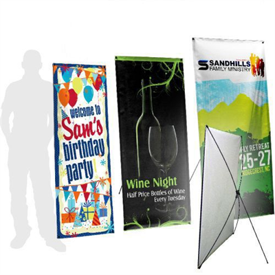 X-Stand Banner Kits